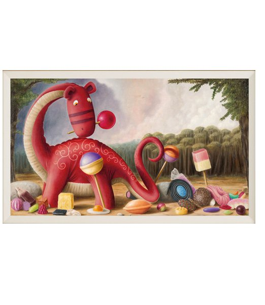 Peter Smith Tuppenny Pennysaurus Remarqued Edition M2