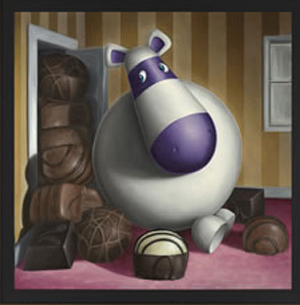 Peter Smith Chocolanche (Canvas on Board) 2