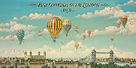 Isiah & Benjamin Lane Ballooning Over London