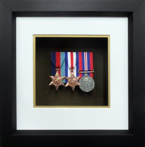 3 Medal Opening Frame