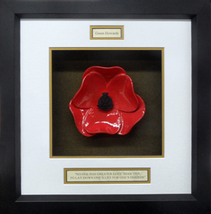 Green-Howards-Ceramic-Framed-Poppy