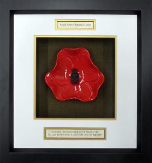 Royal-Army-Ordance-Corps-Ceramic-Framed-Poppy