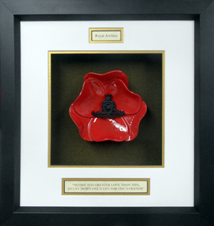 Royal-Artillary-Ceramic-Framed-Poppy