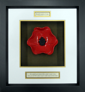 Royal-Logistics-Corps-Ceramic-Framed-Poppy