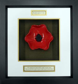 Royal-Logistics-Corps-Ceramic-Framed-Poppy