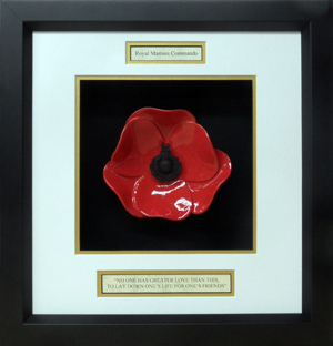 Royal-Marine-Commando-Ceramic-Framed-Poppy