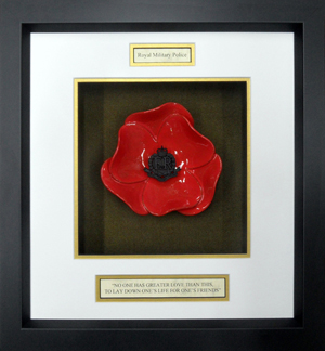Royal-Military-Police-Ceramic-Framed-Poppy