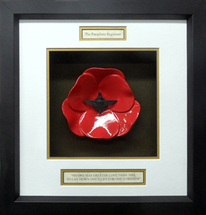 The-Parachute-Regiment-Ceramic-Framed-Poppy