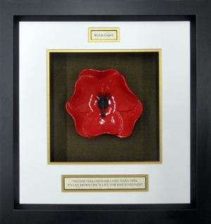 Wales-Guards-Ceramic-Framed-Poppy