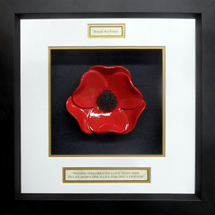 Royal-Air-Force-Ceramic-framed-Poppy