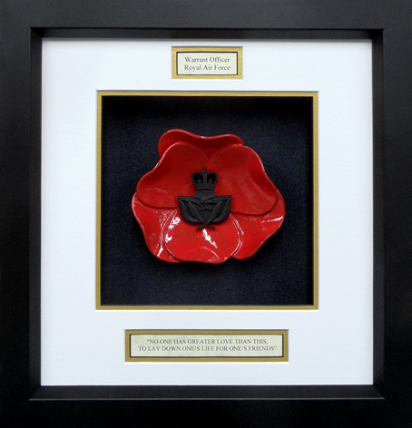 Royal-Air-Force-Warrant-Offices-Framed-Poppy