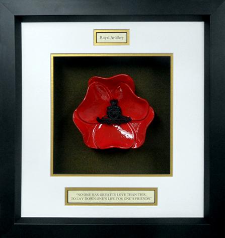 Royal-Artillary-Ceramic-Framed-Poppy