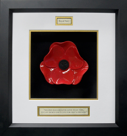 Royal-Navy-Ceramic-Framed-Poppy