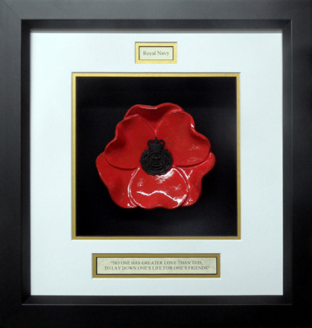 Royal-Navy-Chief-Petty-Officer-Ceramic-Framed-Poppy