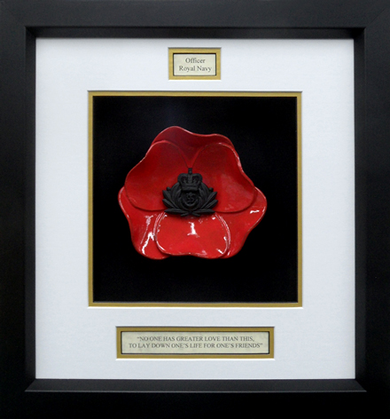 Royal-Navy-Officer-Badge-Poppy