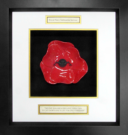 Royal-Navy-Submarine-Service-Ceramic-Framed-Poppy