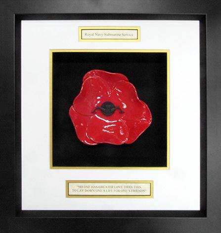 Royal-Navy-Submarine-Service-Ceramic-Framed-Poppy