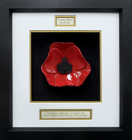 Royal-Navy-Warrant-Offices-Framed-Poppy