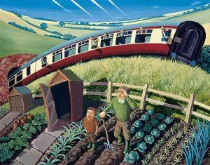 David Kirk The Passing Train