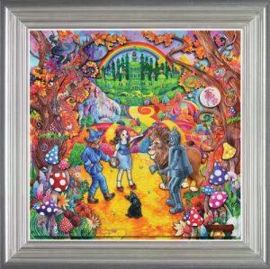 Kerry Darlington The Wonderful Wizard Of Oz Frame Uk