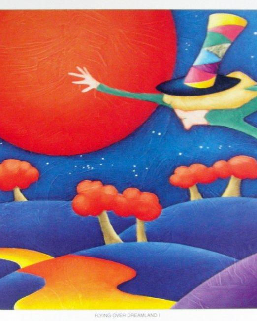 Flying Over Dreamland I