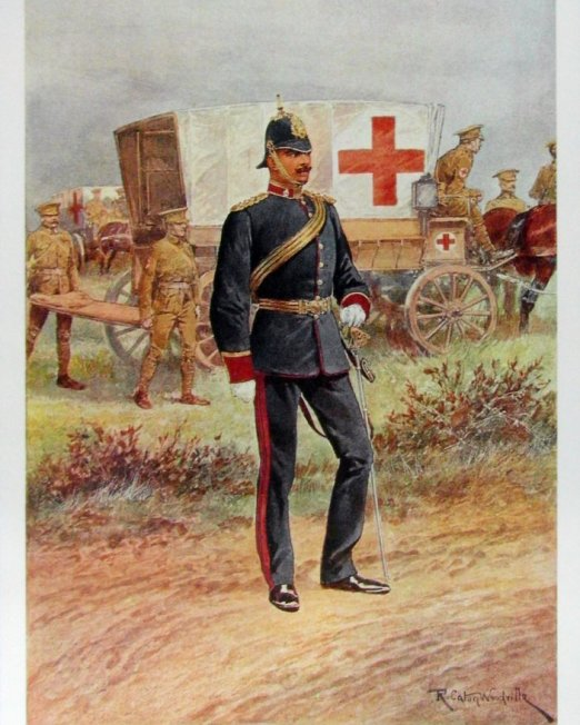 Caton Woodville Royal Army Medical Corps