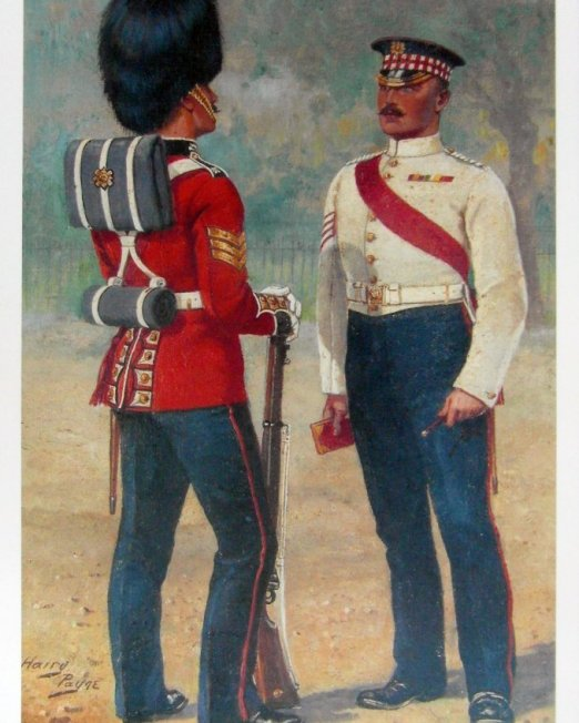 Harry Payne The Scots Guards