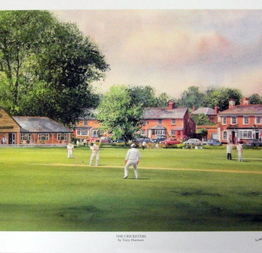 Terry Harrison The Cricketers