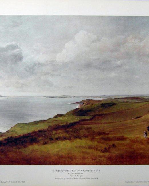 John-Constable-Osmington-&-Weymouth-Bays