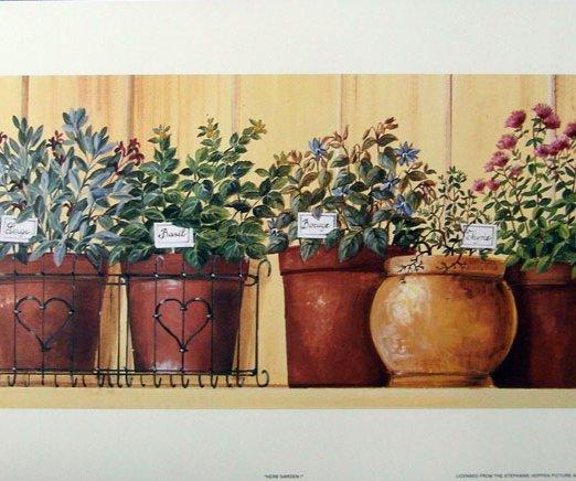 UnKnown-Artist-Herb-Garden-I