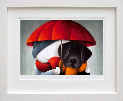 Showered In Love Giclee Framed