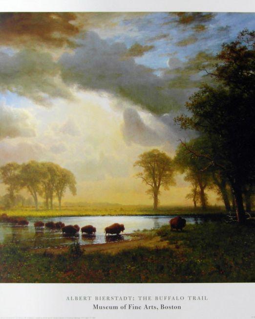 Albert-Bierstadt-Buffalo-Trail