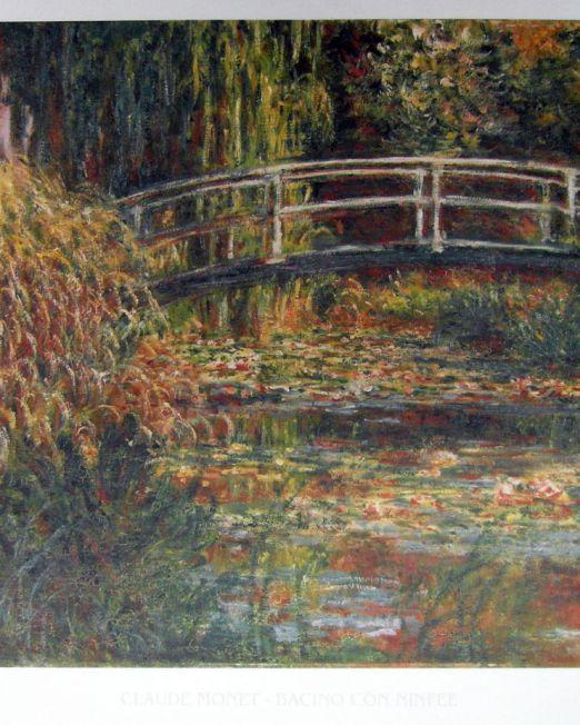 Claude-Monet Bacino Con Ninfee