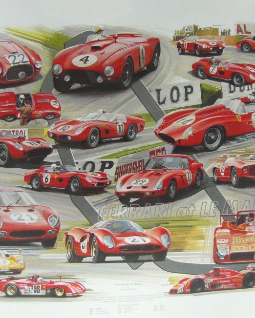 Ferrari-At-Le-Mans
