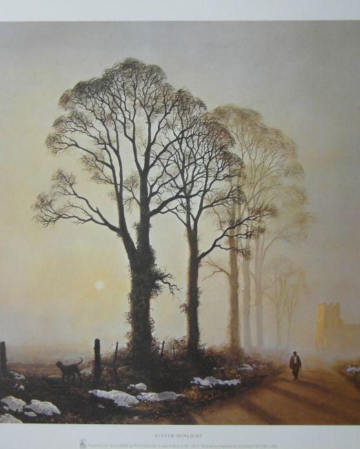 Gerald Coulson Winter-Sunlight