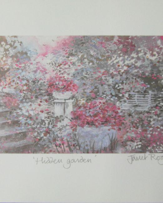 Janet Rogers Hidden Garden