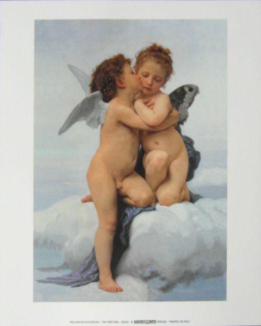 William-Bouguereau The-First-Kiss