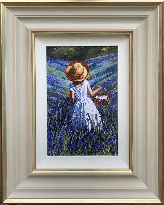 Bluebell Haven Framed
