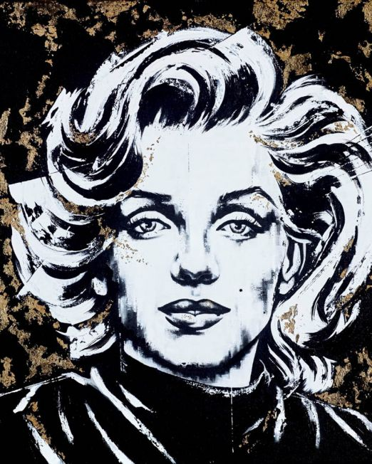 Marilyn Golden Girl Unframed
