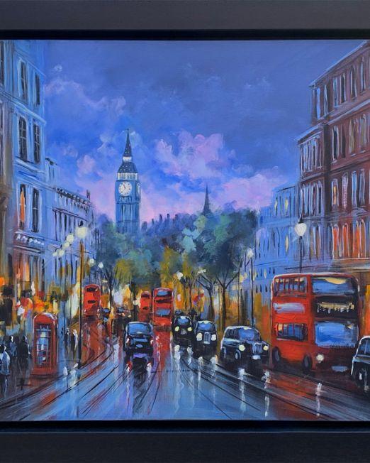 Whitehall, London VI Framed