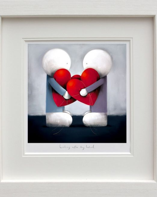 Looking After My Heart Framed