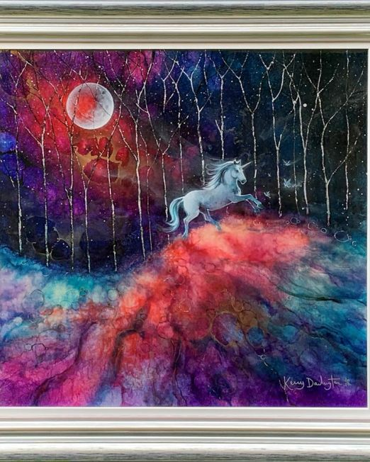 The Unicorn's Tale Framed
