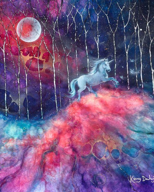 The Unicorn's Tale Unframed
