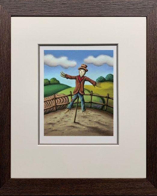 Mr. Scarecrow Framed