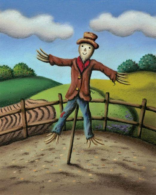 Mr. Scarecrow Unframed