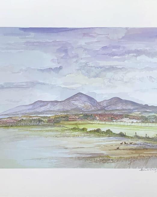Bally Kinley 1993 (Image 42 x 30cm)