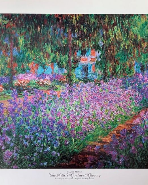 Claude-Monet-The-Artists-Garden-at-Giverny