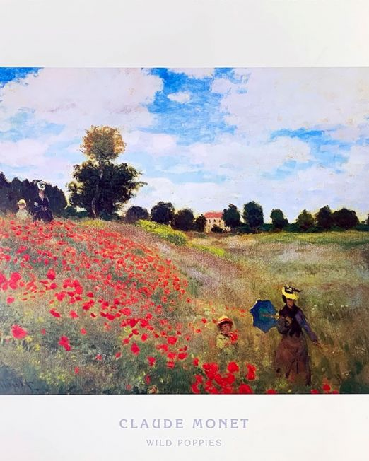 Claude-Monet Wild-Poppies