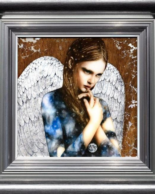Cosmic Angel Framed