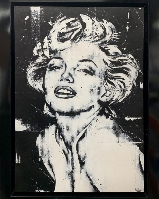 Miss Monroe IV Framed